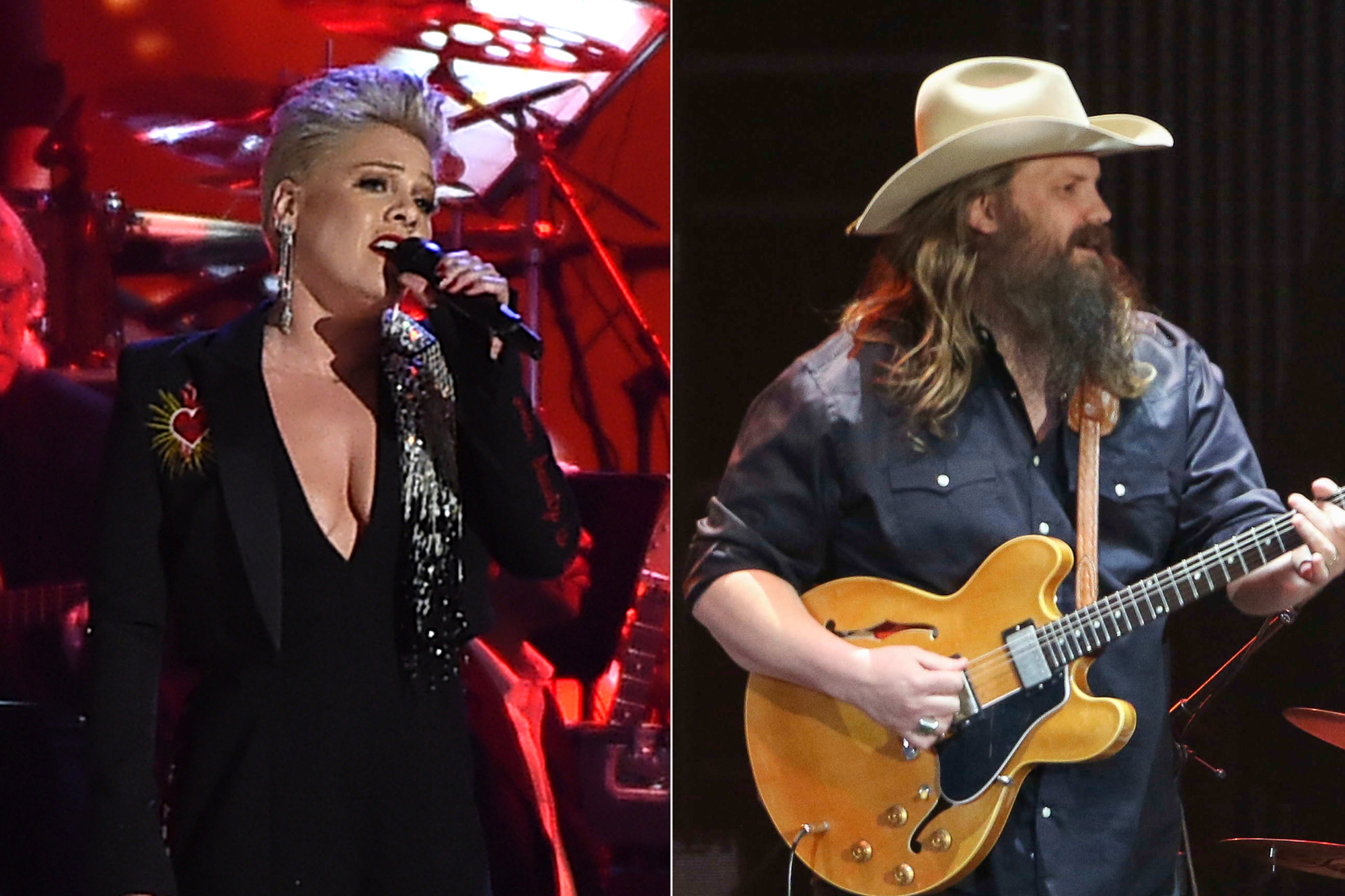 Listen Now: Pink, Chris Stapleton's 'Love Me Anyway': Listen – Rolling Stone