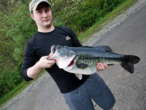 New state record largemouth bass caught in Harlan County – Kentucky Living
